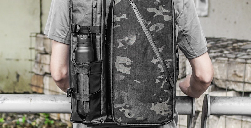 This super functional backpack gives you 8 different styles MX-GEAR SLIDER PACK modular utility backpack