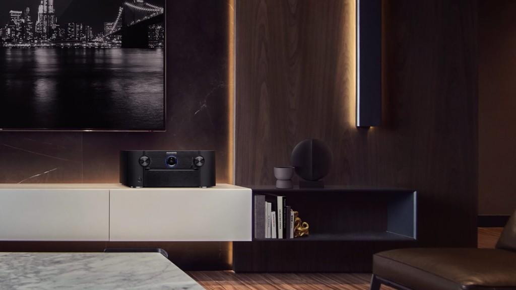 Best home theater gadgets for your living room Marantz SR8015 8K AV receiver