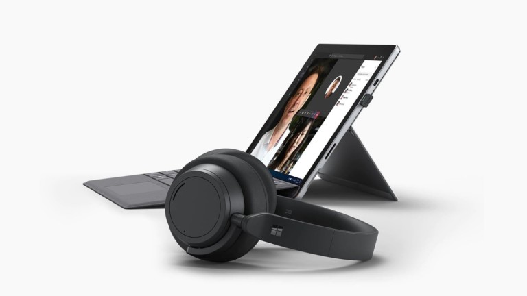 Microsoft Surface Headphones 2+ for Business have 13 levels of active noise cancellation