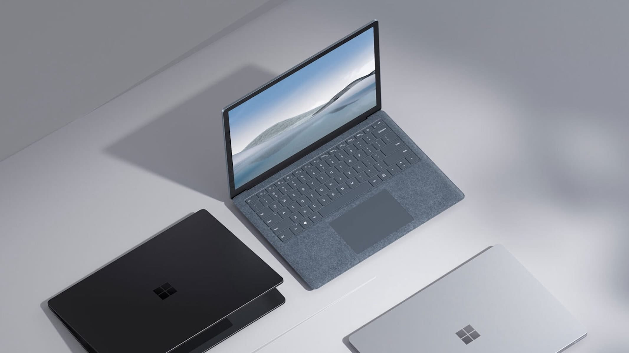 Microsoft Surface Laptop 4 in gray