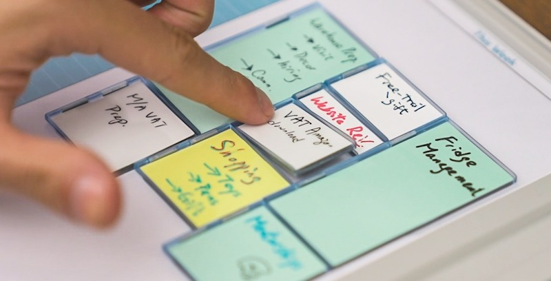The Mover Erase brings portable whiteboards to your WFH setup