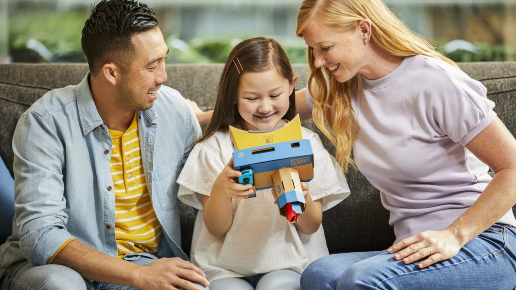 How to keep your kids active and learning this spring Nintendo Labo Toy-Con 04 VR kit