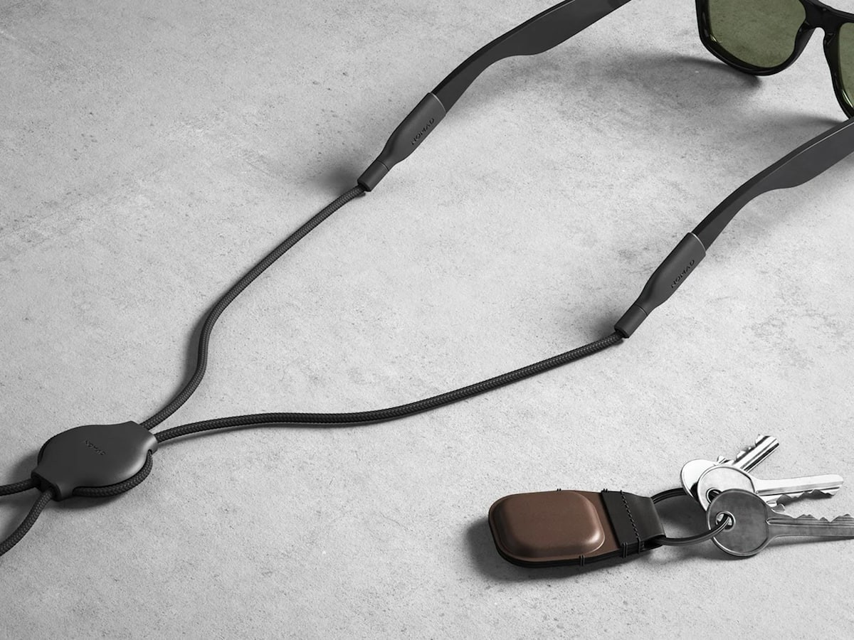 Nomad AirTag Keychain and Glasses Straps let you keep track of your gear