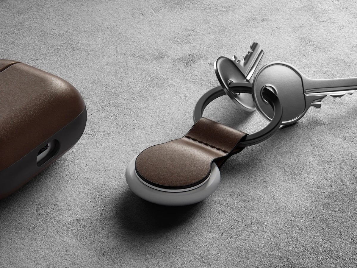 Nomad Leather Loop for AirTag adds 2 mm of protection to your gadget
