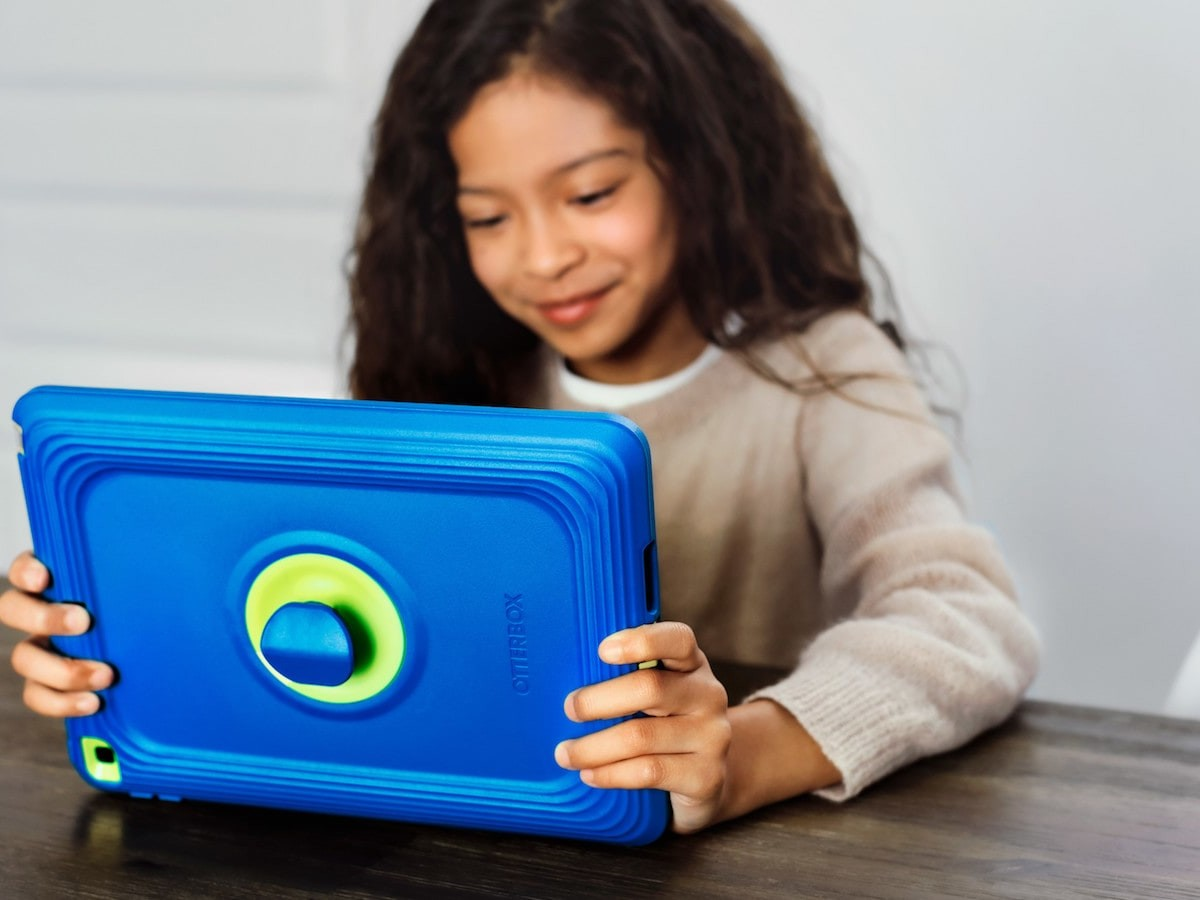 Otterbox iPad Cases for Kids block microbial growth and can withstand drops and throws
