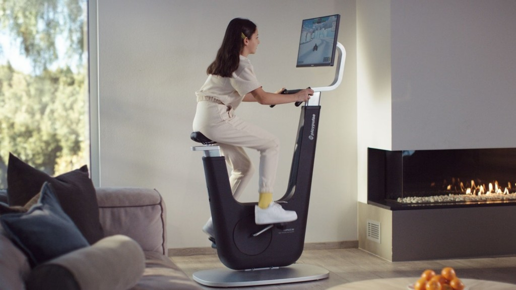 Never-seen-before workout gadgets and gear Playpulse ONE indoor gaming bike