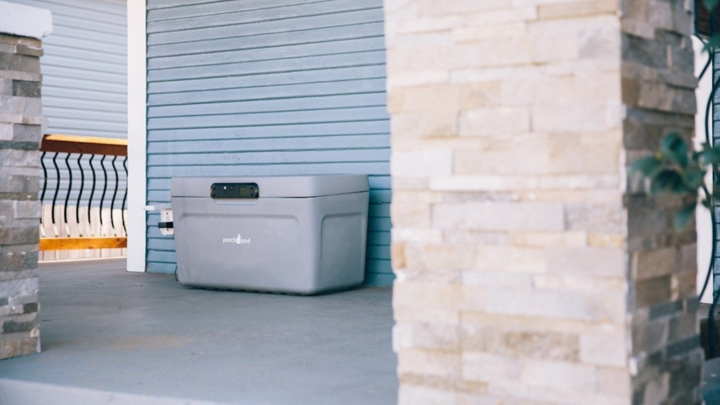 The best of home security gadgets—April 2021 edition Porch Pod delivery safes