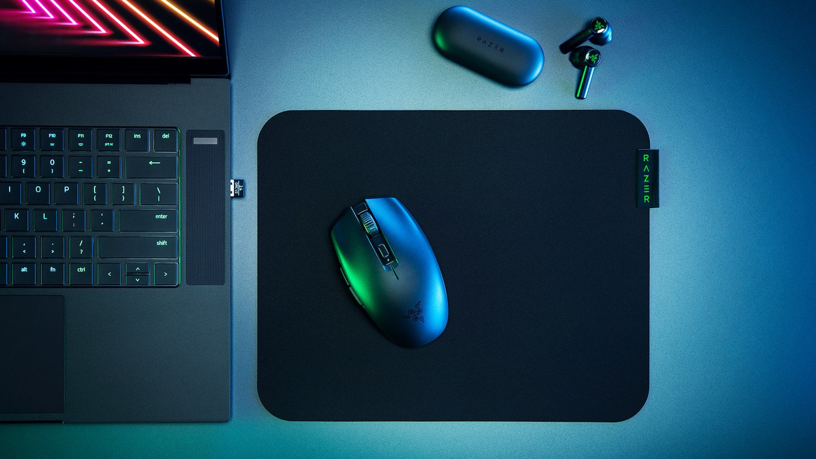Razer Orochi V2 wireless gaming mouse features a 5G advanced optical sensor