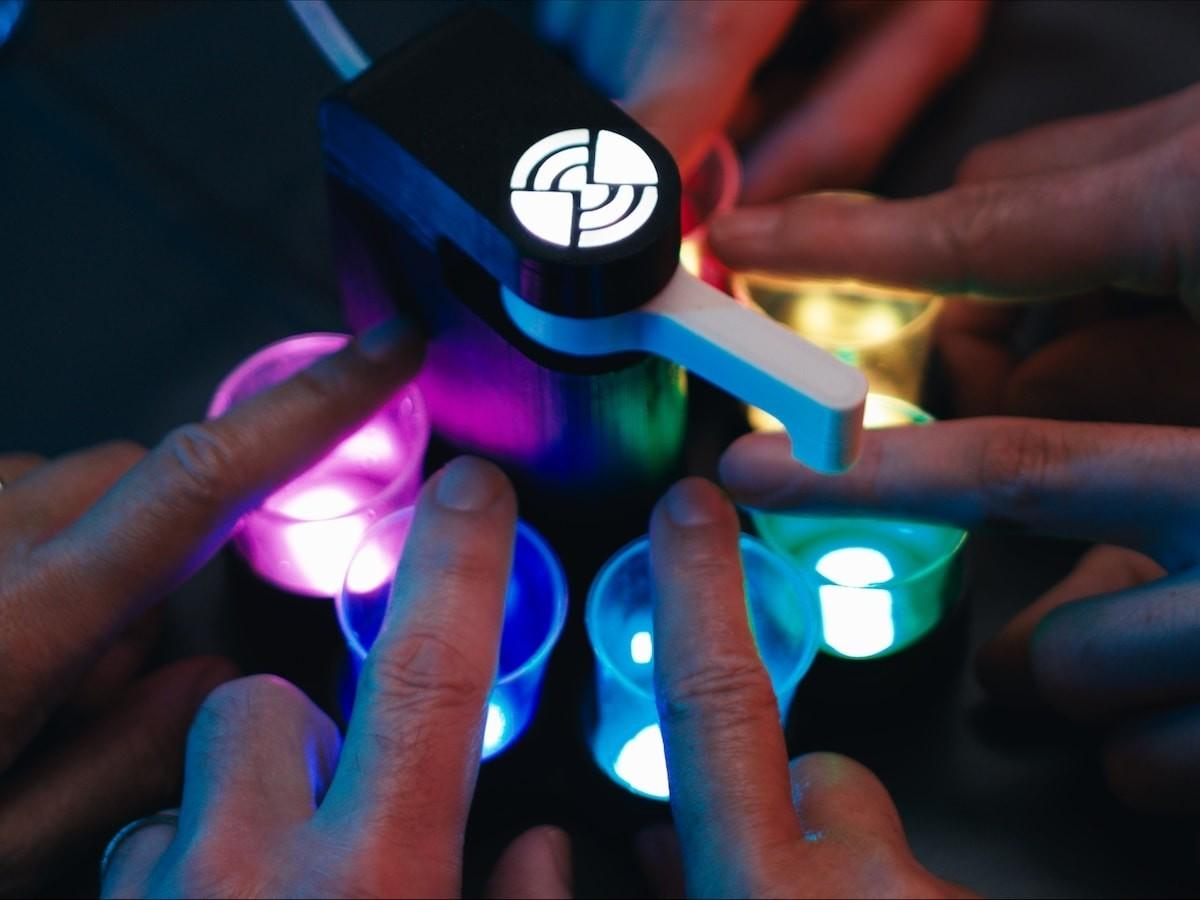 RevoRoulette robot shot dispenser takes your party games up a notch