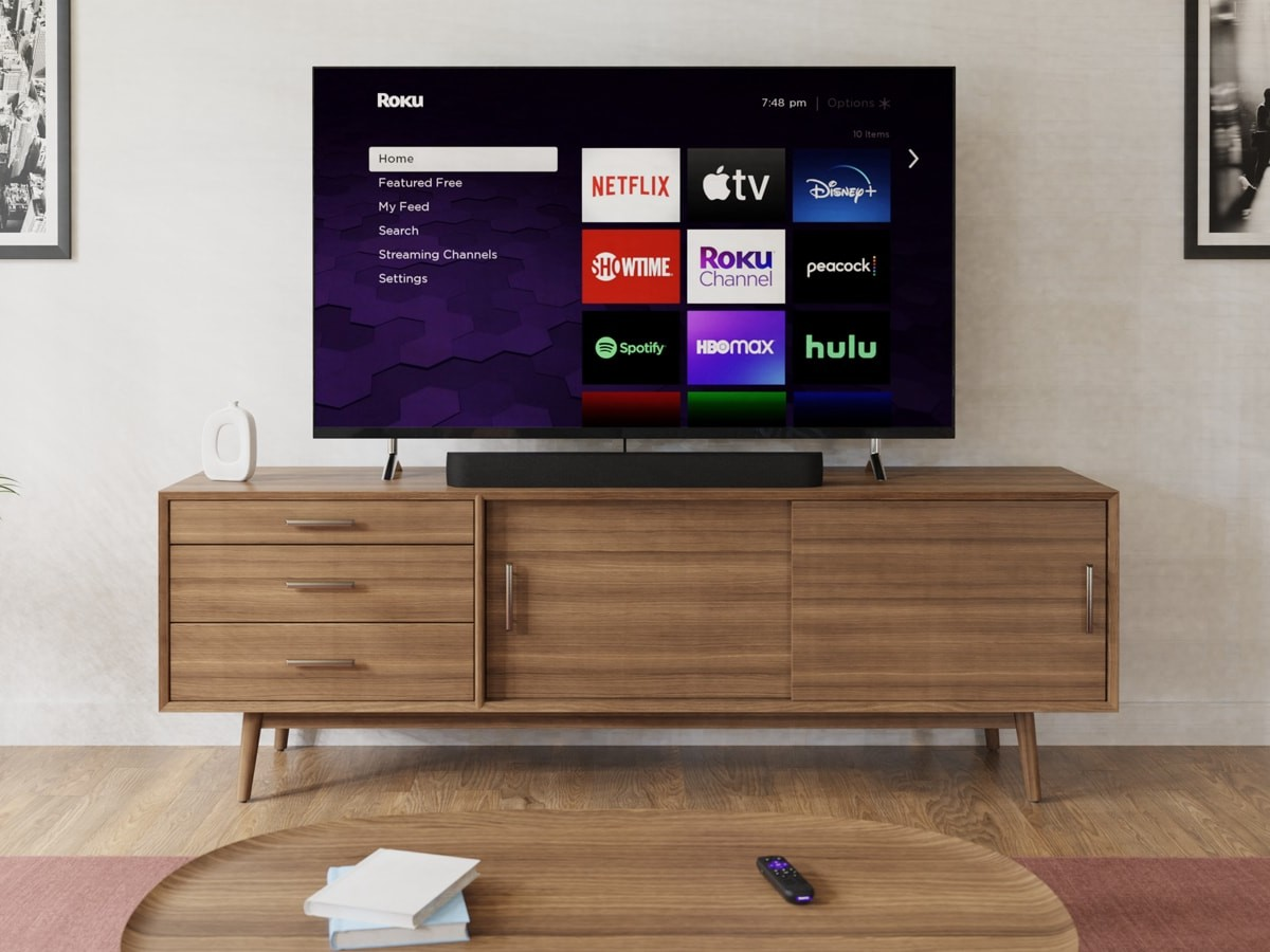 Roku All-in-One Streambar Pro features 4K streaming and cinematic sound