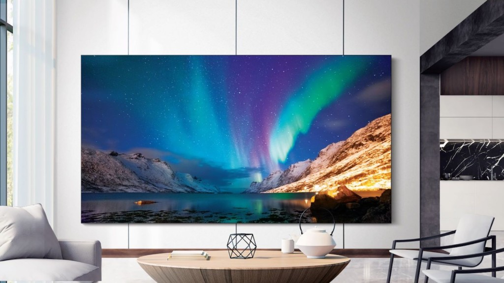 Samsung 2021 MicroLED TV collection