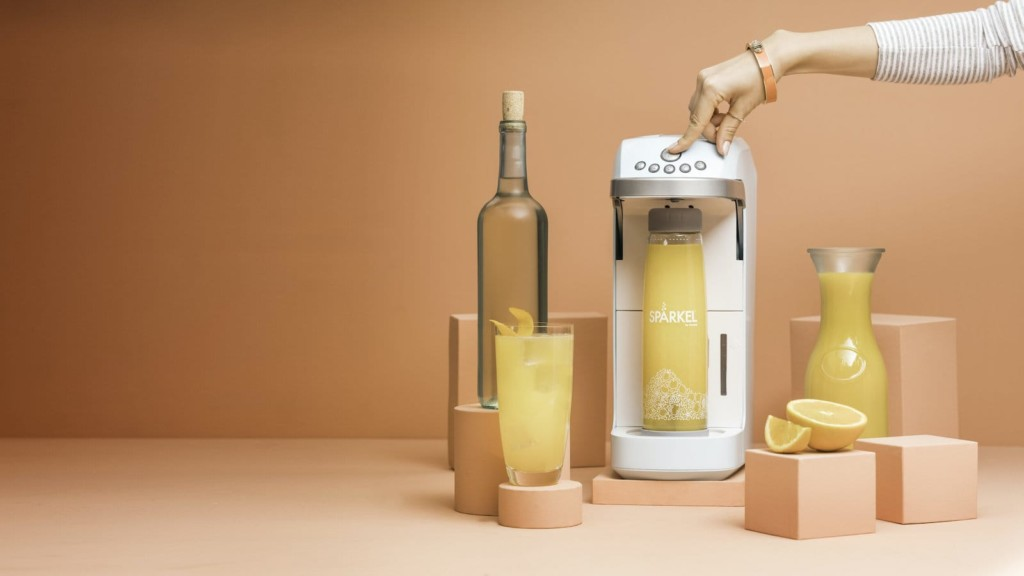 The best gadgets trending on Gadget Flow now Spärkel Beverage System