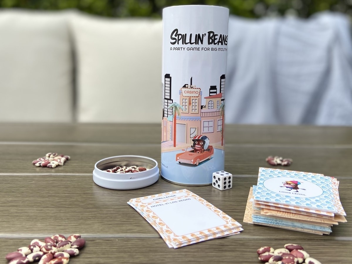 Spillin' Beans party game reveals you don't know your friends until they spill the beans