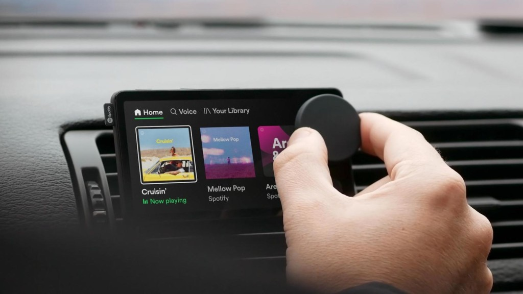 These smart gadgets have mind-blowing designs Spotify Car Thing smart music player
