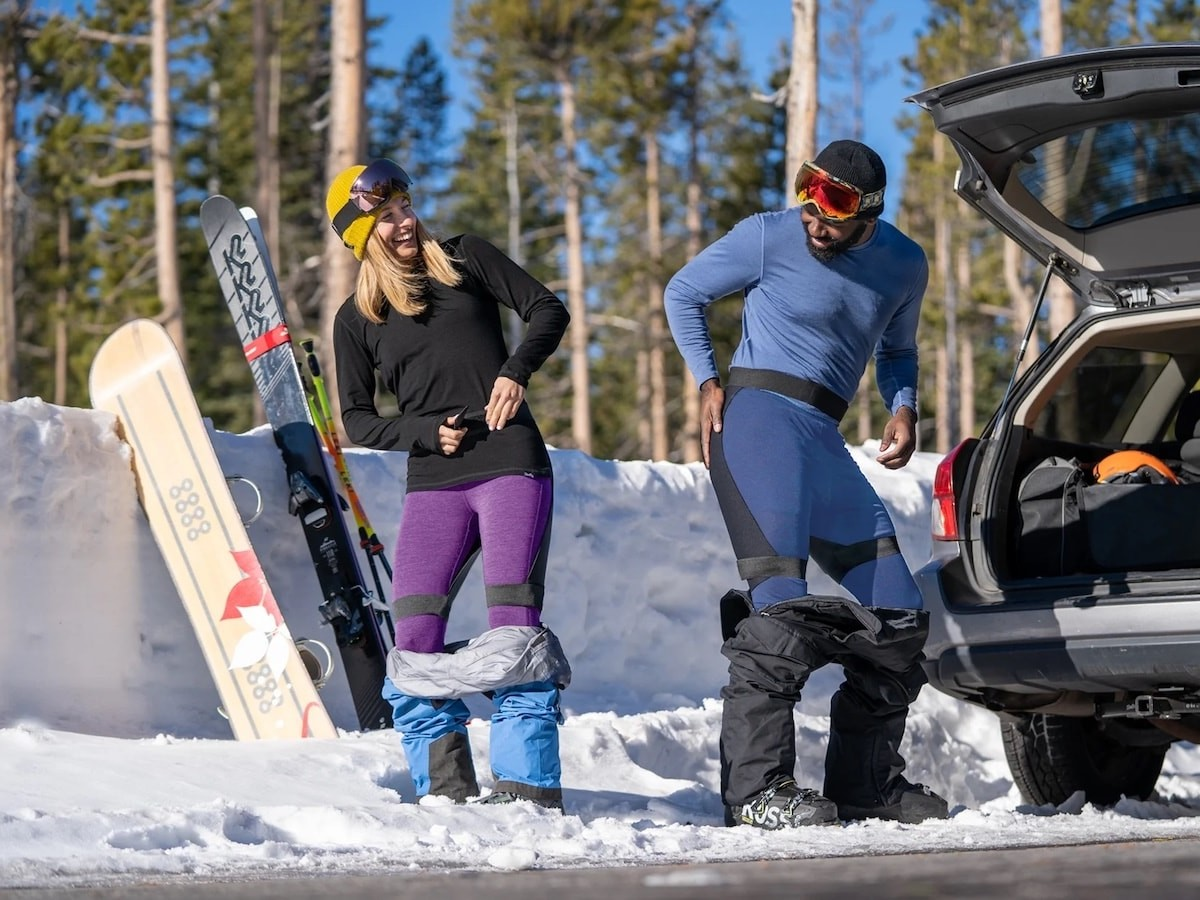 The Ass Gasket seat warmer gives you a waterproof, insulated barrier for chairlifts