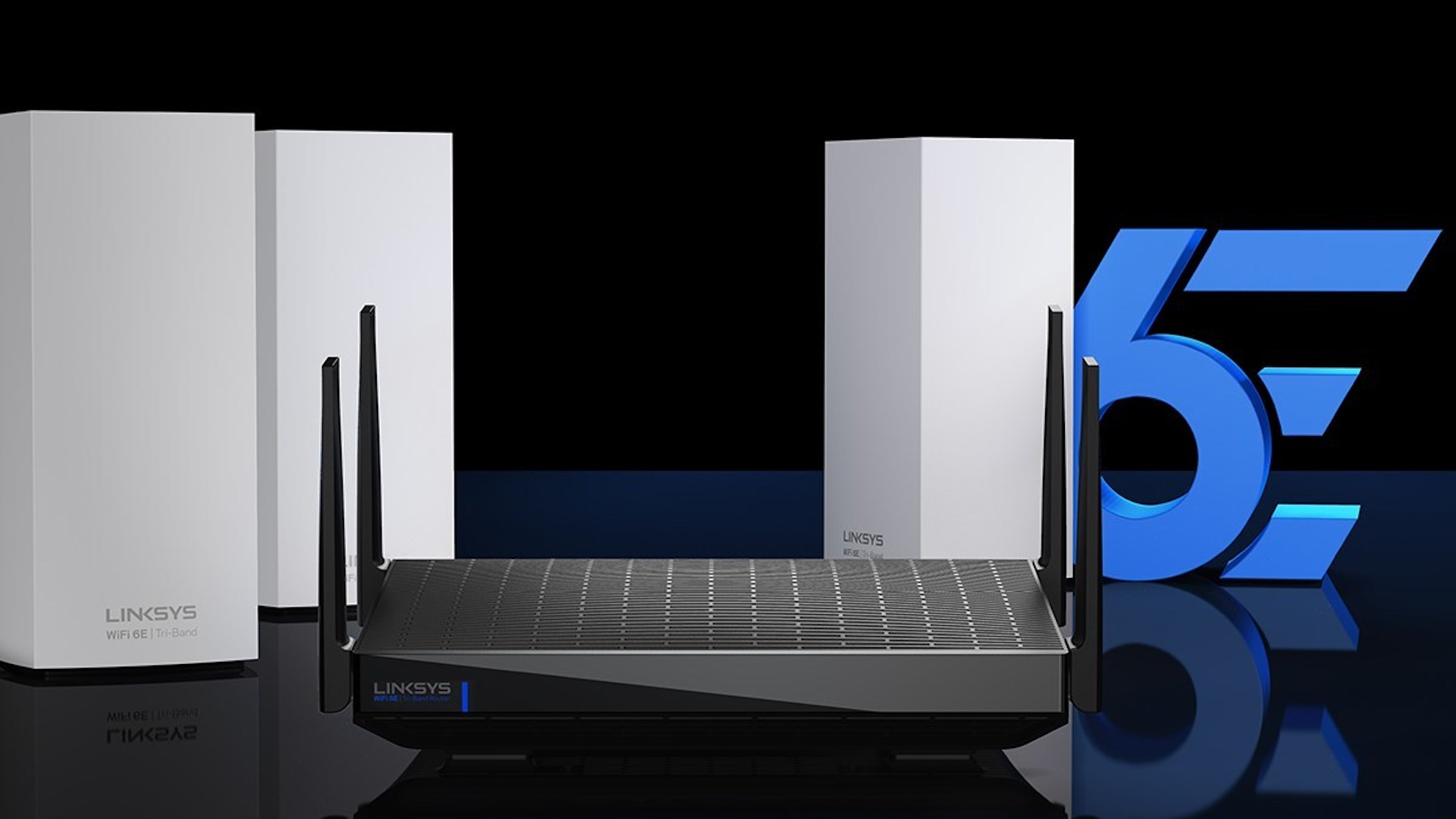 new Linksys Velop mesh router—Hydra Pro 6E