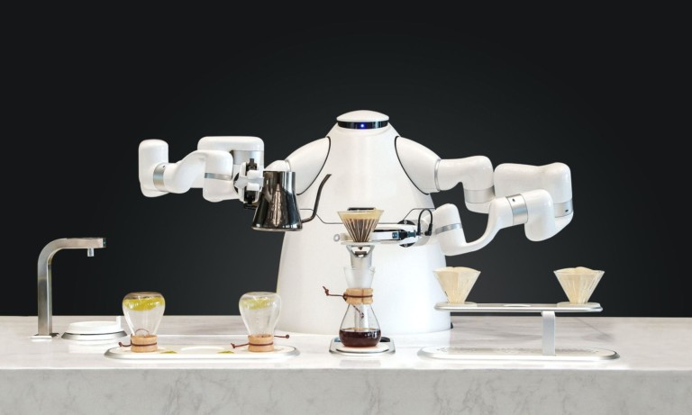 This coffee-making robot is what you need to see first thing in the morning