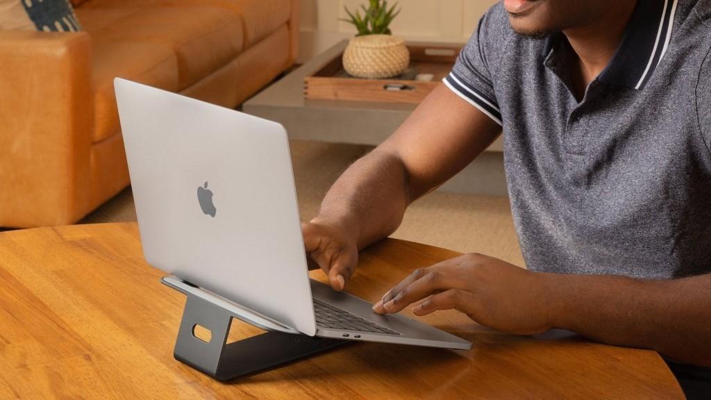 Best WFH gadgets for your Mac desk setup Twelve South ParcSlope MacBook & iPad stand