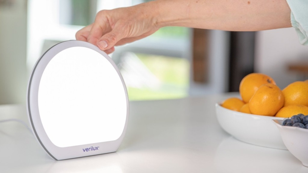 Verilux HappyLight therapy lamp boxes