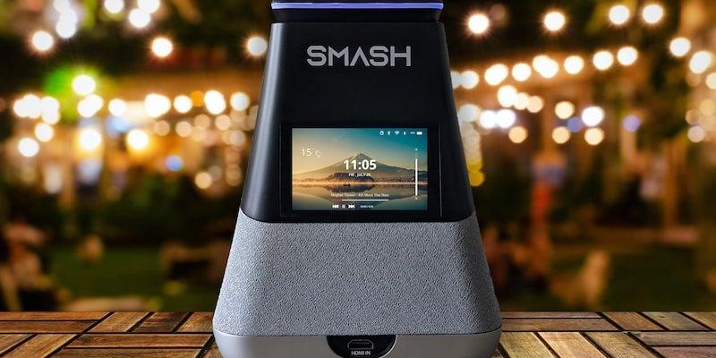 v WooBloo SMASH portable smart projector