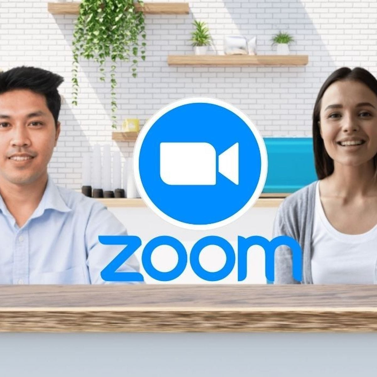 Zoom's Immersive View feature lets you simulate an office or auditorium in an online meeting thumbnail