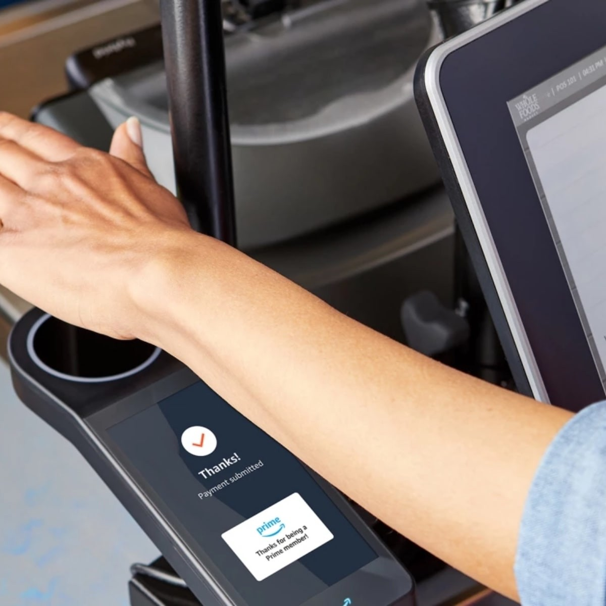 Amazon One brings contactless payments to Whole Foods stores thumbnail