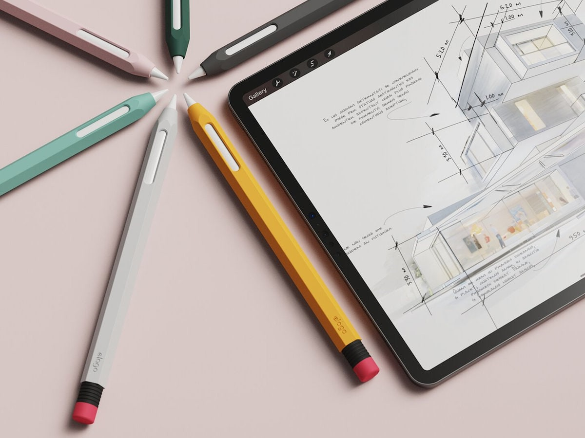 elago Apple Pencil 2nd Generation Cover adds protection & prevents surfaces from scratches