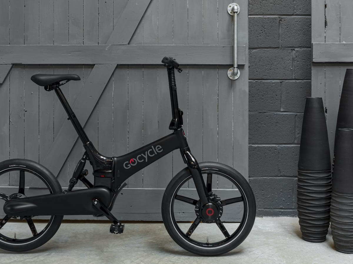 Gocycle G4 foldable eBike series boasts the G4drive electric motor & a USB charging port