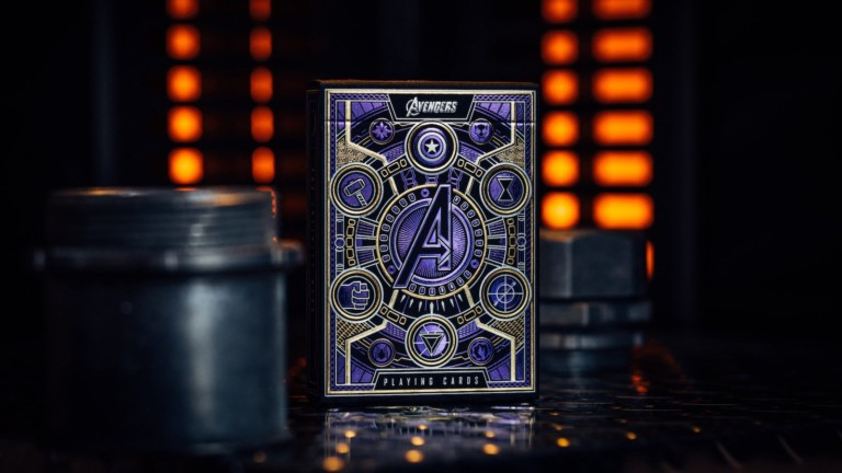 theory11 Avengers: Infinity Saga Playing Cards have your favorite heroes and villains