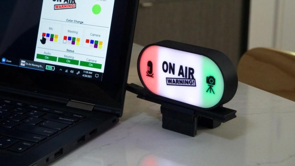 Air Warning automatic status light