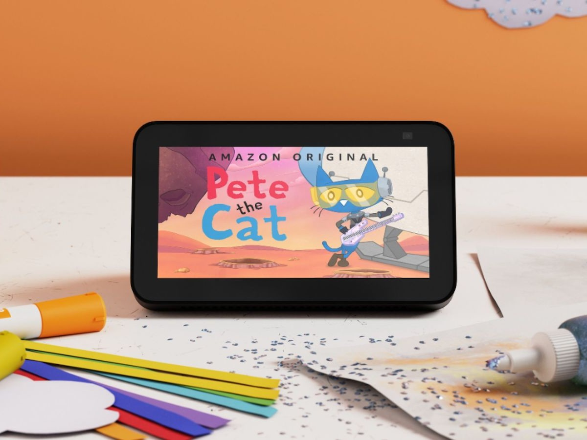 Amazon Echo Show 5 Kids 2nd Gen children's tablet has recycled plastics & a 2 MP camera