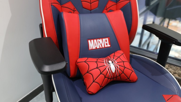 Andaseat Marvel Collaboration Series superhero gaming chairs have an ergonomic design