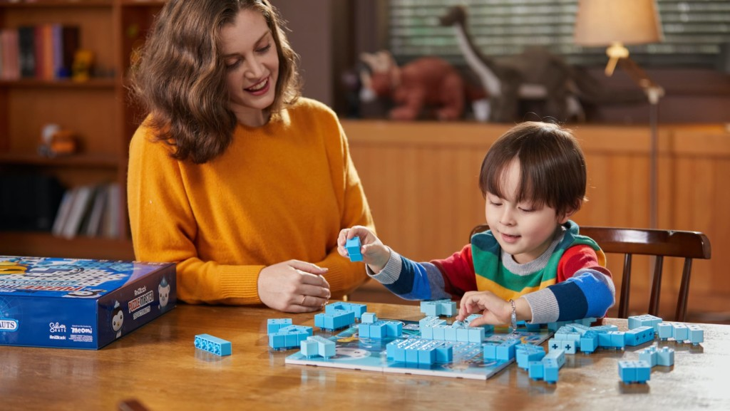 This multi-solution Octonauts puzzle helps kids flex their problem-solving and spatial reasoning skills AniBlock Puzzle Master The Octonauts