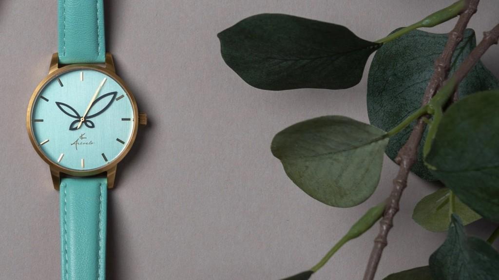 Arévalo Watches Folium minimalist women's timepiece