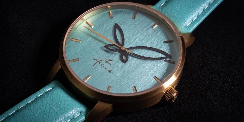 V Arévalo Watches Folium minimalist women's timepiece