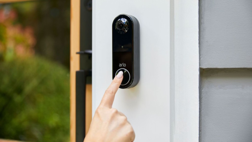 Arlo Essential wire-free smart home security video doorbell