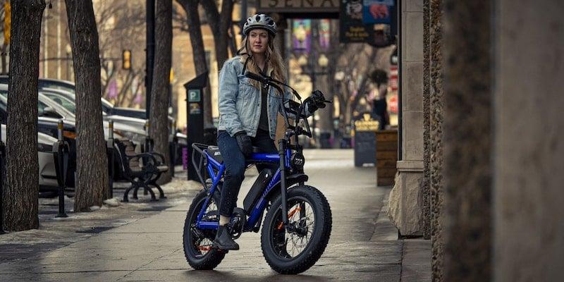 Biktrix Moto moped-style eBike