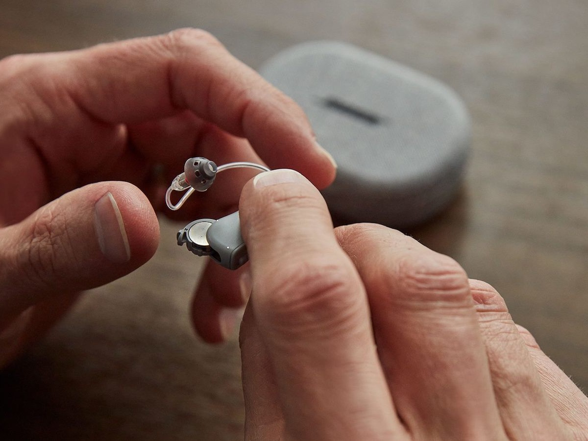 Bose SoundControl Hearing Aids are self-fitting, discreet, and customizable to your needs