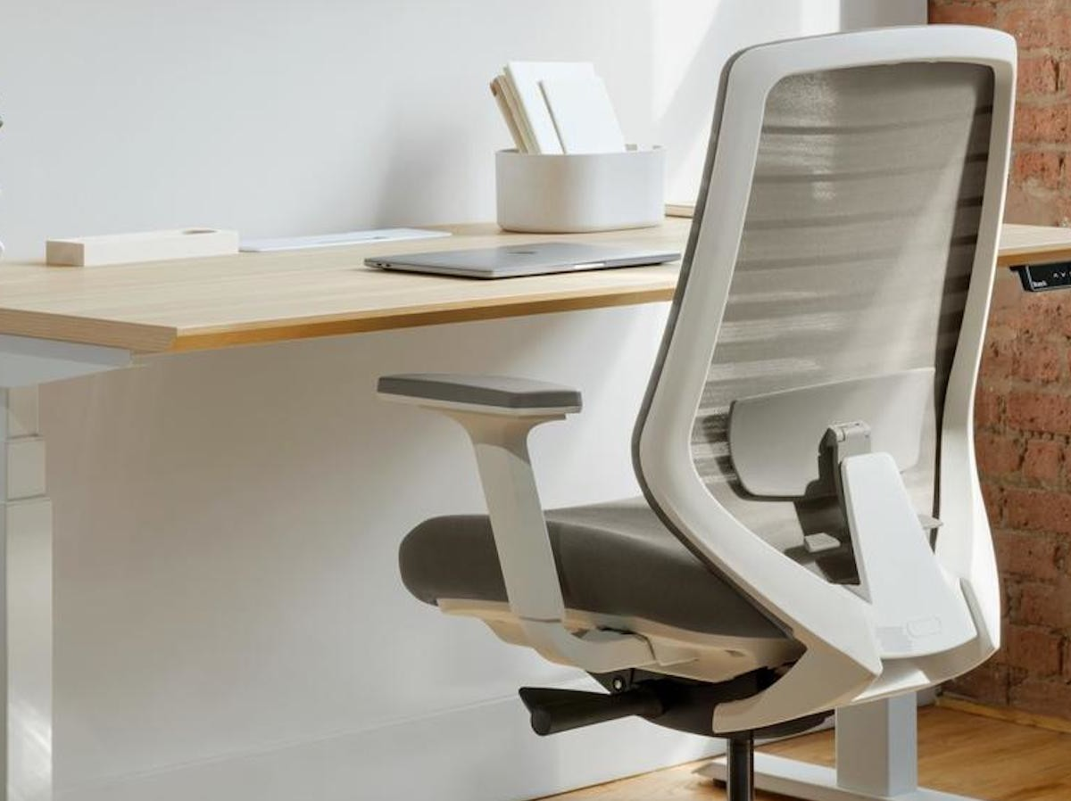 Branch Ergonomic Chair for offices offers 7 points of adjustment for comfort & ergonomics