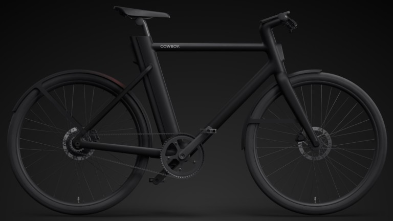 Cowboy 4 powerful urban eBike connects to your smartphone to give stats about your ride