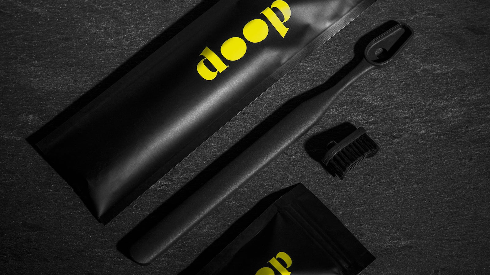 Doop head-removable & washable toothbrush is both recycled & recyclable for sustainability