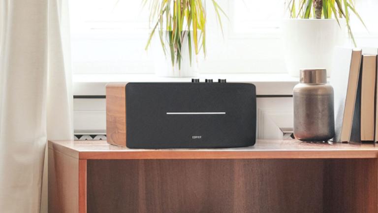 "Edifier D12 desktop stereo <em class=""algolia-search-highlight"">speaker</em> has versatile connectivity and top-notch sound"