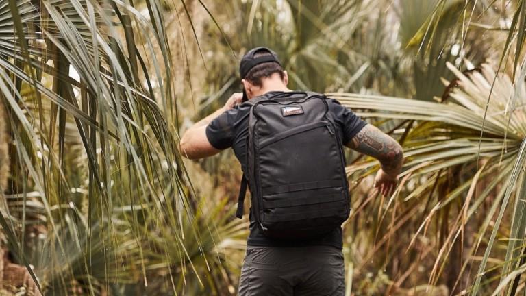 GORUCK Rucker 3.0 ergonomic rucksack features zero irritation when running shirtless