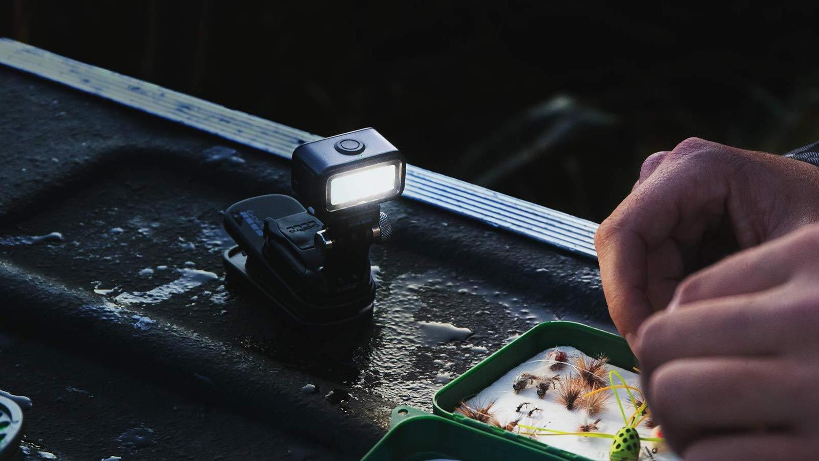 GoPro Light Mod LED camera light gives you up to 4 levels of brightness in dim conditions