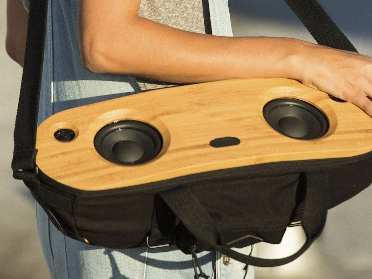House of Marley Bag Of Riddim 2 can be worn to play music while you're on the go thumbnail