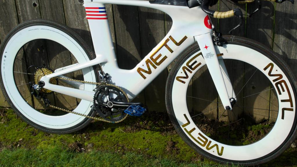 METL pneumatic smart bike tire