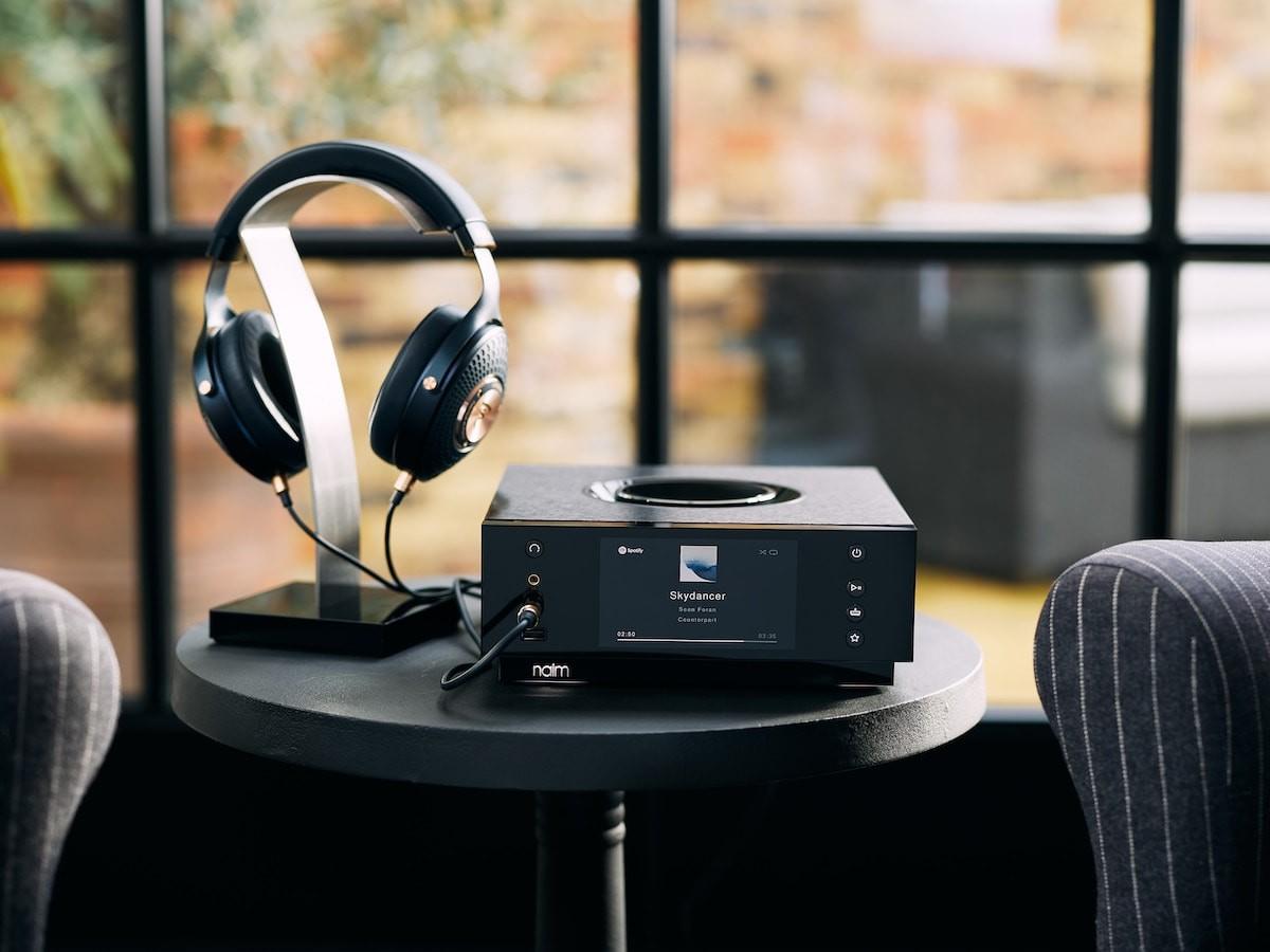 Naim Audio Uniti Atom Headphone Edition amplifier offers optimized headphone listening