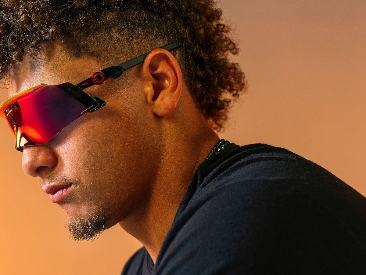 Oakley Kato close-fit sunglasses conform to the contours of your face for better coverage