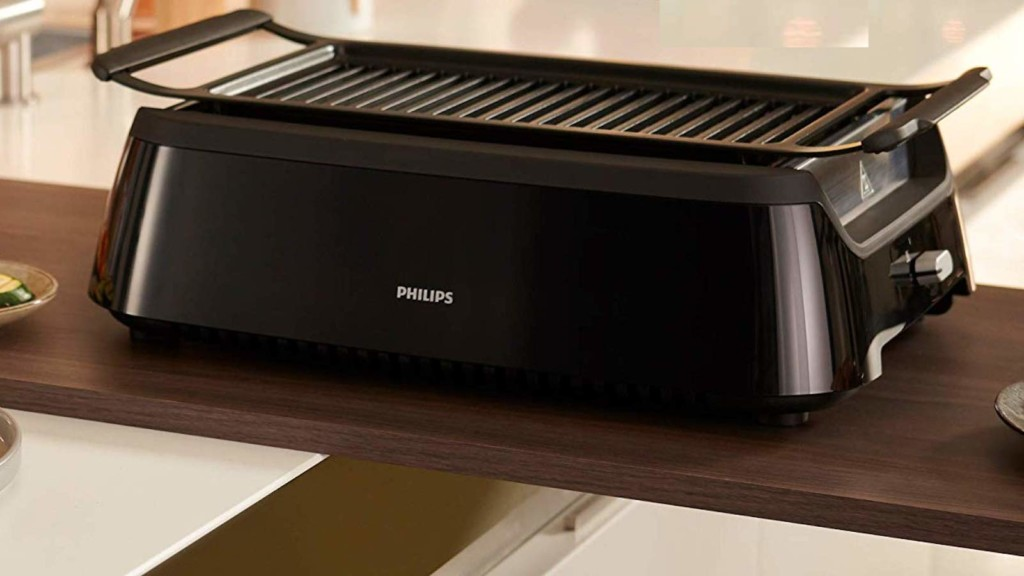 15 popular refurbished tech gadgets with amazing deals you need to check out now Philips Smoke-less Grill with Rotisserie Attachment Indoor BBQ