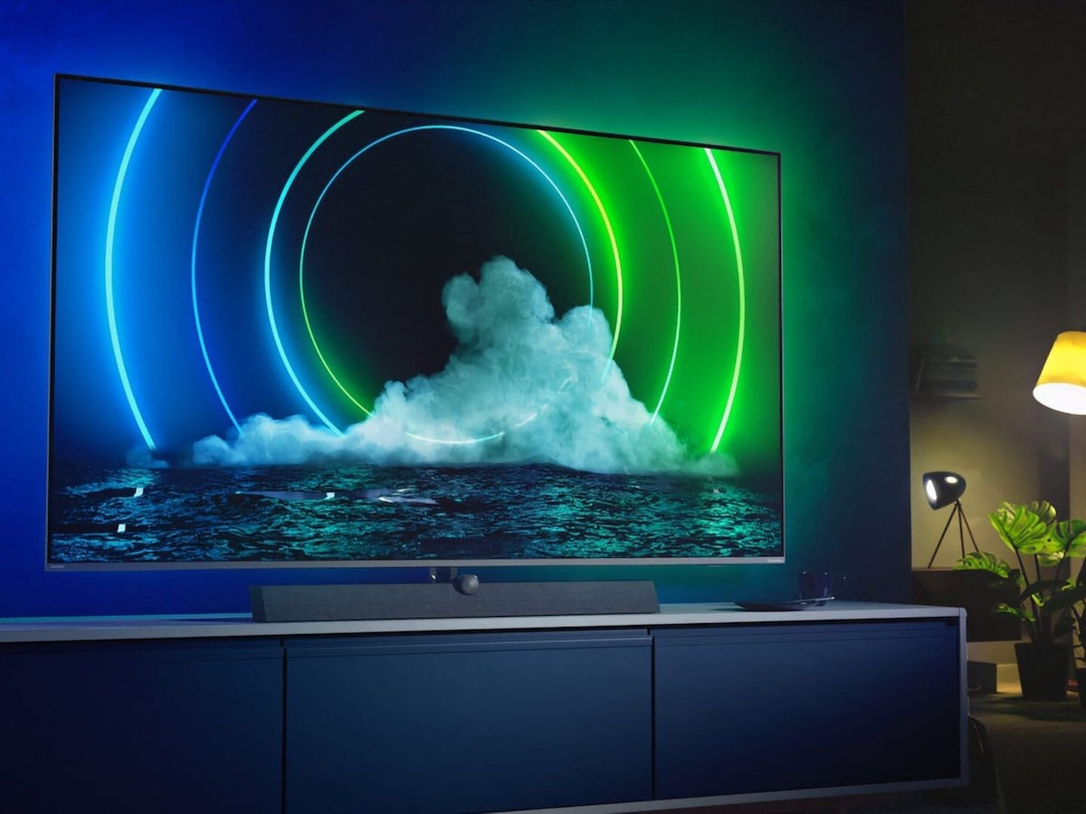 Philips 7-Series OLED TVs boast 4K OLED and P5 video processing for incredible viewing